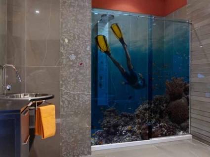 crdence de cuisine en verre imprim orchide - Credence Verre Salle De Bain