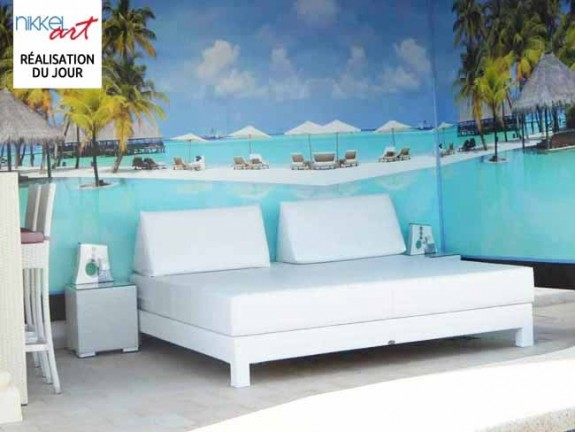 Papiers peints Tropical plage
