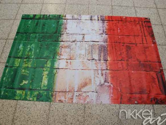 Photo sur Bache drapeau Italie