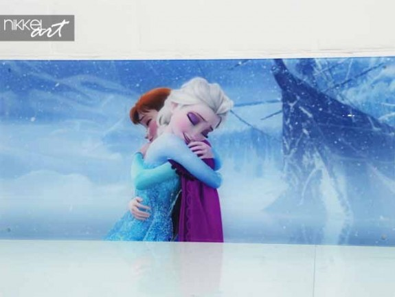 Photo sur Plexiglas La reine des neiges
