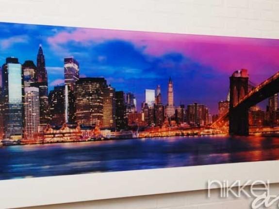 photo sur plexiglas new york. Black Bedroom Furniture Sets. Home Design Ideas