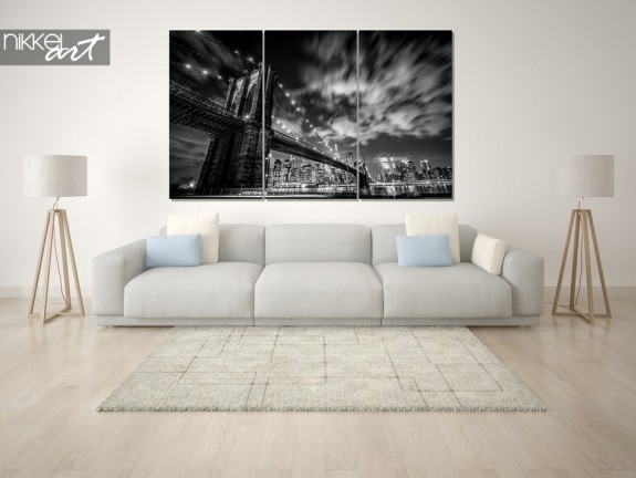 Photo sur Plexiglas New York en noir et blanc