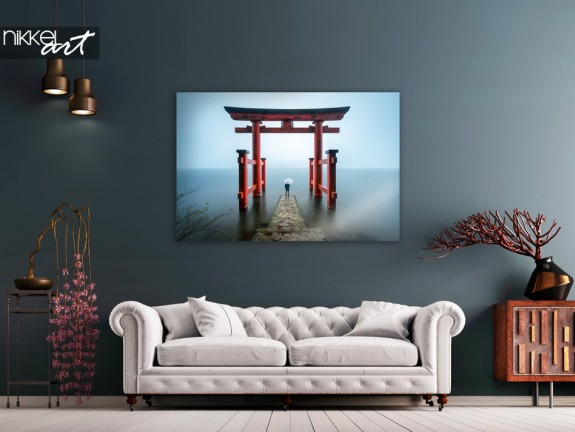 Photo Sanctuaire Hakone Japon sur Plexiglas